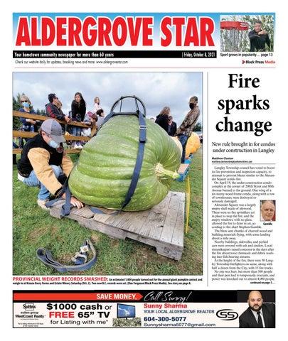 Aldergrove Star, October 8, 2021