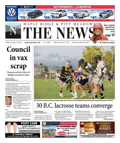 Maple Ridge News, October 8, 2021