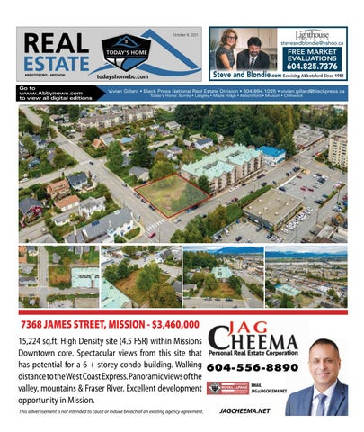October 08, 2021 Real Estate Weekly - Abbotsford
