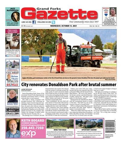 Grand Forks Gazette/West Kootenay Advertiser, October 13, 2021