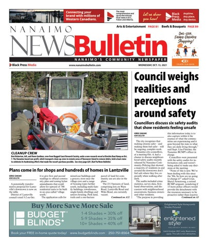 Nanaimo News Bulletin, October 13, 2021
