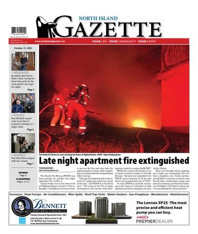 North Island Gazette, October 13, 2021