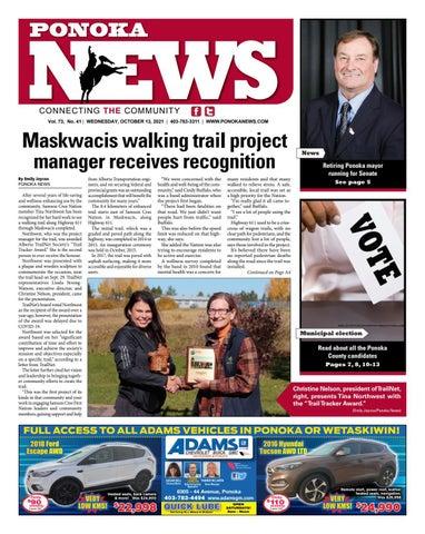 Ponoka News, October 13, 2021