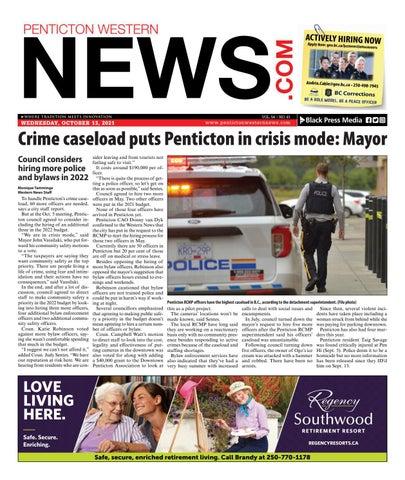 Penticton Western News, October 13, 2021