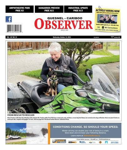 Quesnel Cariboo Observer, October 13, 2021
