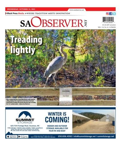 Salmon Arm Observer, October 13, 2021