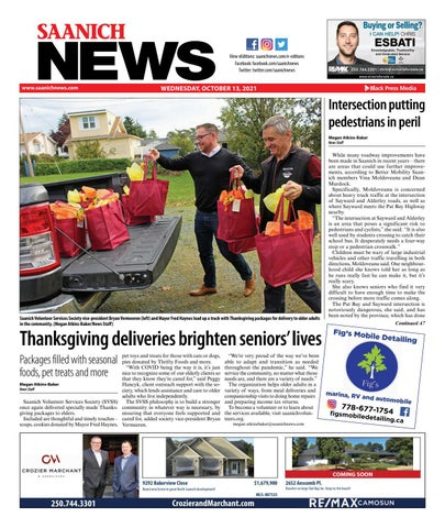 Saanich News, October 13, 2021