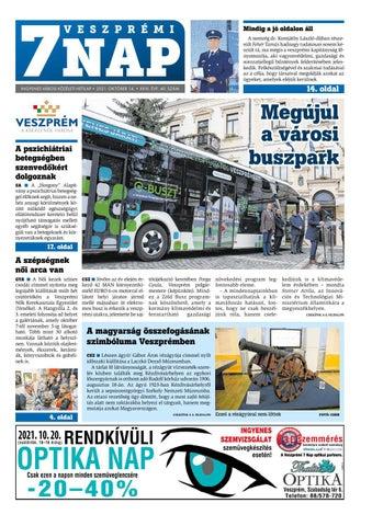 Veszprémi 7 Nap - 2021. 10. 14.