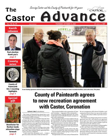 Castor Advance, October 14, 2021