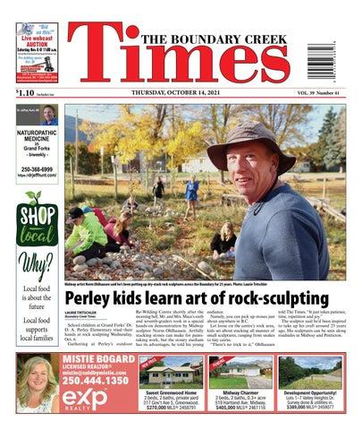 Boundary Creek Times, October 14, 2021