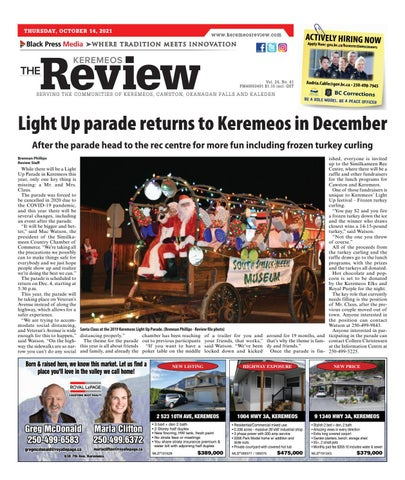 Keremeos Review, October 14, 2021