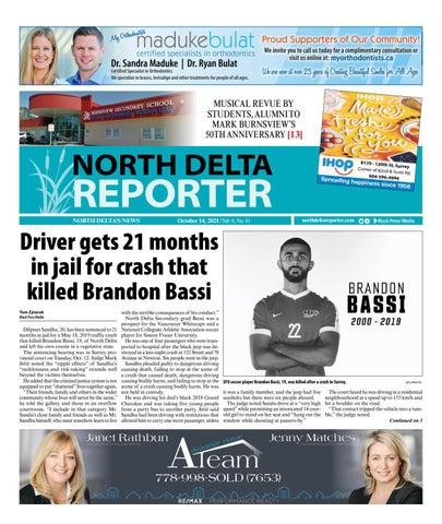 North Delta Reporter, October 14, 2021