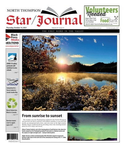 Barriere Star Journal, October 14, 2021