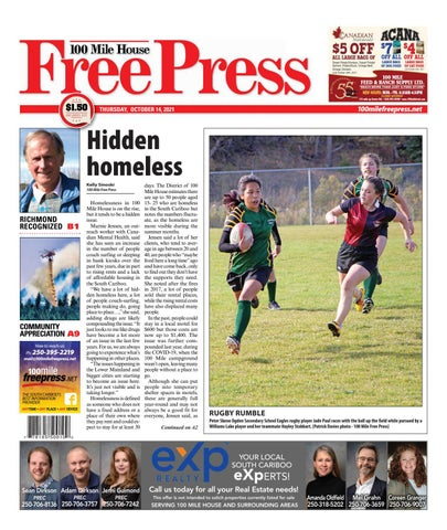 100 Mile House Free Press, October 14, 2021