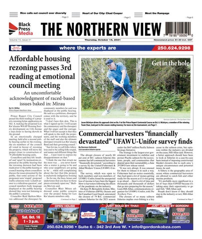 The Northern View/Northern Connector, October 14, 2021
