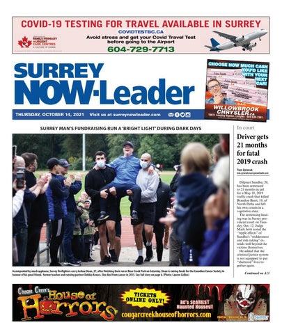 Surrey Now Leader, October 14, 2021