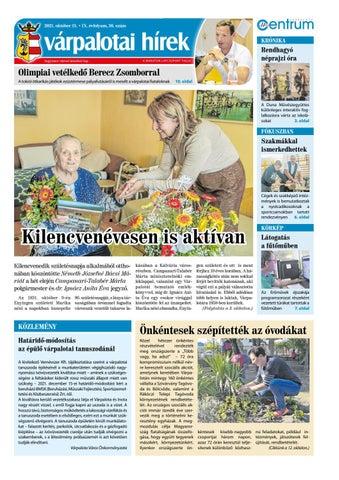 Várpalotai Hírek - 2021. 10. 15.