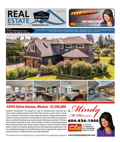 October 15, 2021 Real Estate Weekly - Abbotsford