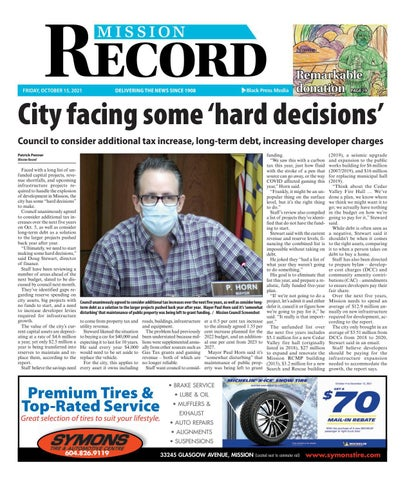 Mission City Record, October 15, 2021