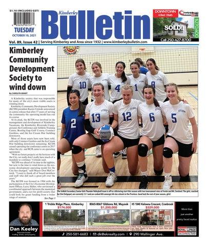 Kimberley Daily Bulletin, October 19, 2021