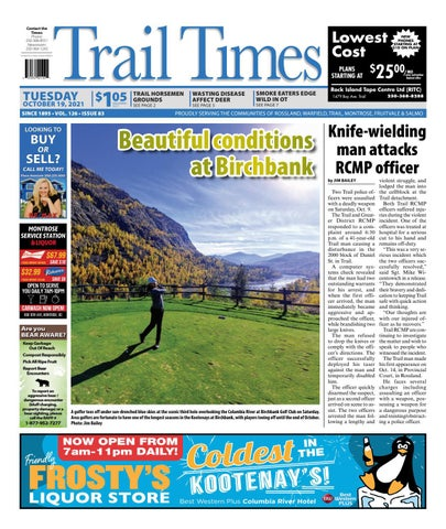Trail Daily Times/West Kootenay Advertiser, October 19, 2021