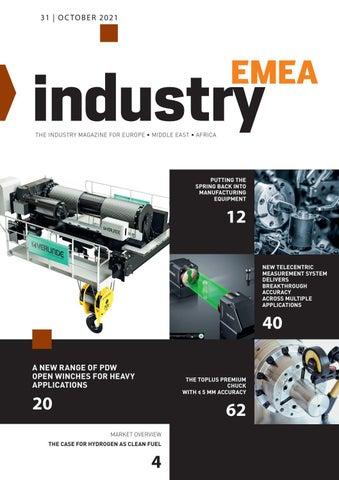 Industry EMEA | 31 - October 2021