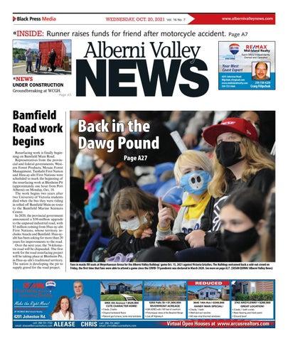 Alberni Valley News, October 20, 2021