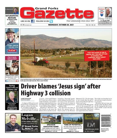 Grand Forks Gazette/West Kootenay Advertiser, October 20, 2021