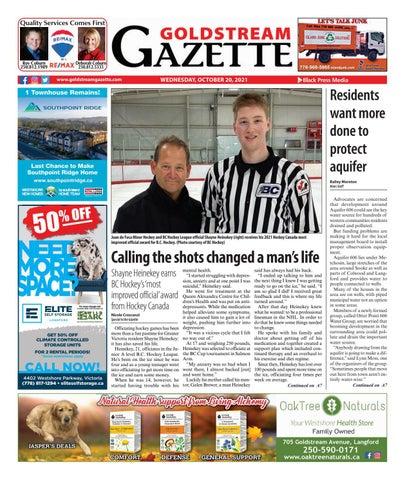 Goldstream News Gazette, October 20, 2021