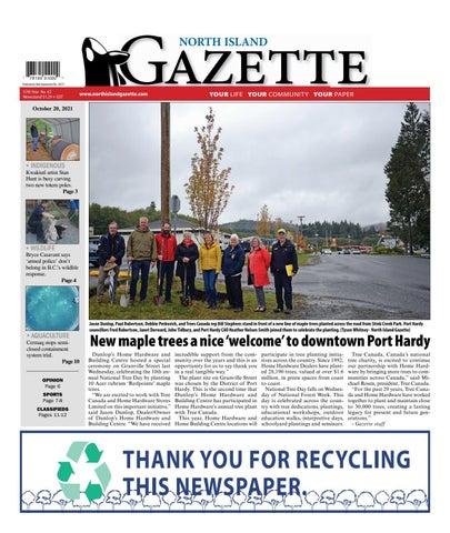 North Island Gazette, October 20, 2021