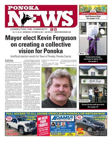 Ponoka News, October 20, 2021
