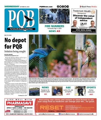 Parksville Qualicum Beach News, October 20, 2021