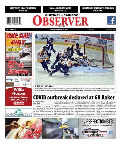 Quesnel Cariboo Observer, October 20, 2021