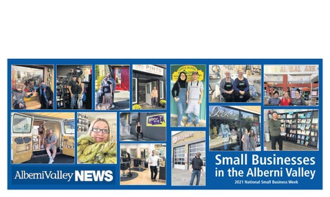 October 20, 2021 Alberni Valley News
