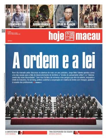 Hoje Macau 21 OUTUBRO 2021 #4875