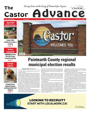 Castor Advance, October 21, 2021