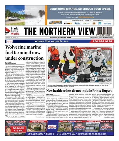 The Northern View/Northern Connector, October 21, 2021