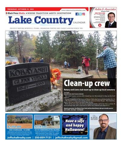 Lake Country Calendar, October 21, 2021