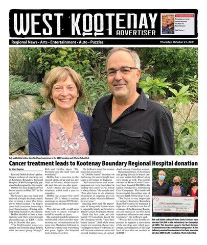 Castlegar News/West Kootenay Advertiser, October 21, 2021