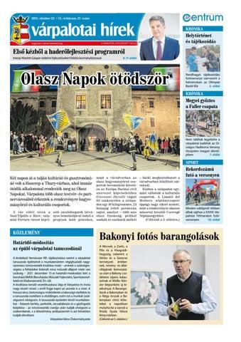 Várpalotai Hírek - 2021. 10. 22.