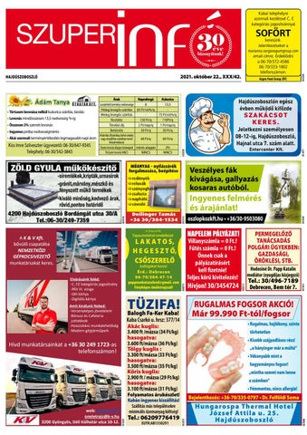 Hajduszoboszlo 2021.10.22
