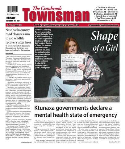 Cranbrook Daily Townsman, October 26, 2021