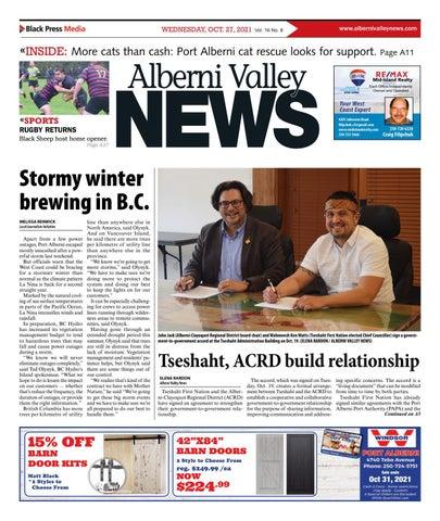 Alberni Valley News, October 27, 2021