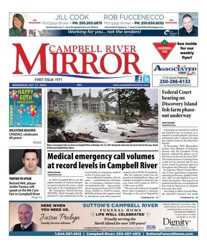 Campbell River Mirror, October 27, 2021