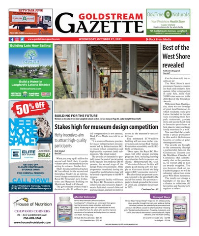 Goldstream News Gazette, October 27, 2021