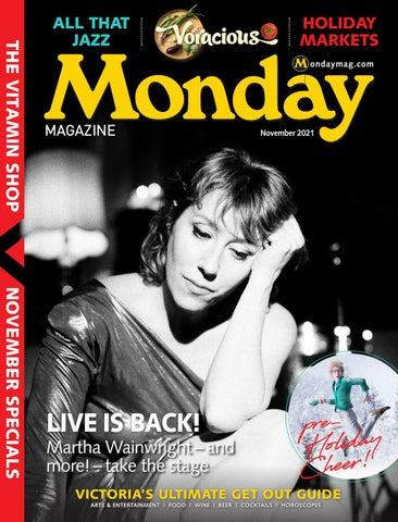 Monday Magazine, October 28, 2021
